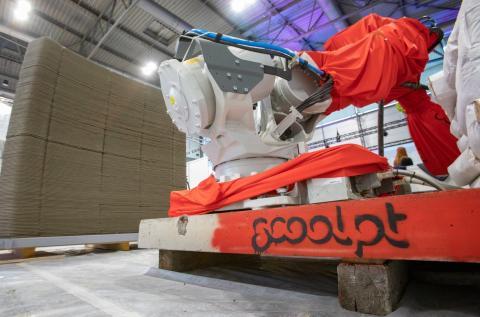 Robot de impresión 3D Scoolpt.