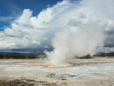 La última erupción fue el 2 de abril de 2020.