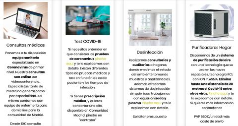 Servicios COVID-19 de GoodyHelp.