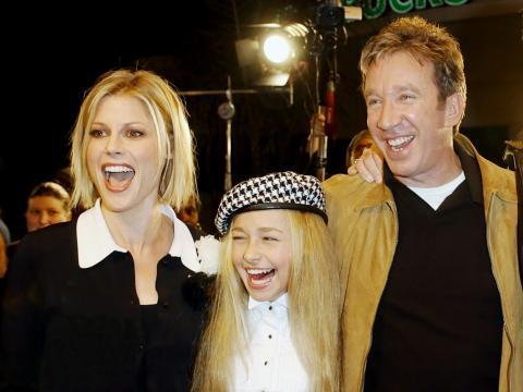 El elenco de la película 'Un padre de cuidado'. Julie Bowen, izquierda, Hayden Panettiere, centro y Tim Allen.