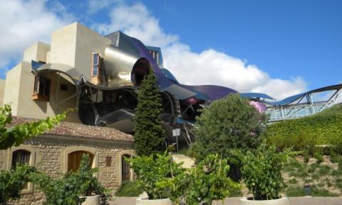 Hotel Marqués de Riscal, Álava.
