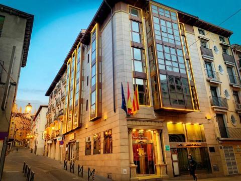 Hotel Sancho Abarca SPA