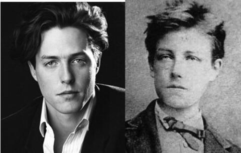 Hugh Grant y Arthur Rimbaud.