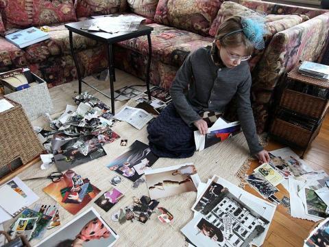 Tavi Gevinson comenzó su blog de moda cuando tenía solo 12 años.