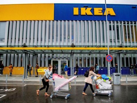Ikea has locations around the world.