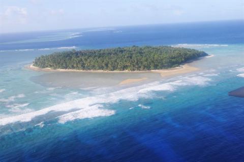Isla Kapingamarangi.
