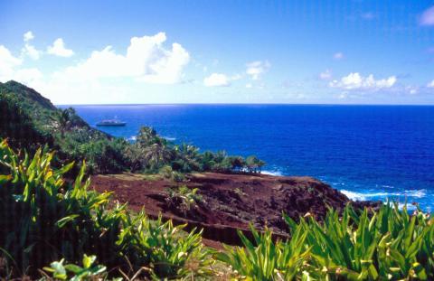 Isla Pitcairn.