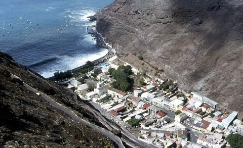 Isla Santa Elena.
