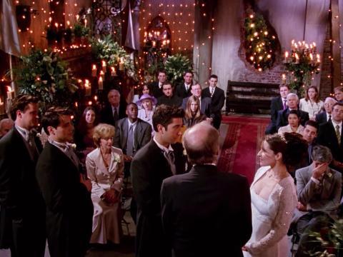 Ross y Emily se casan en 'El de la boda de Ross'.