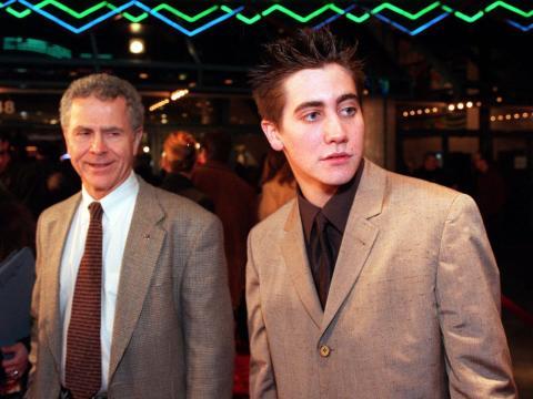 Jake Gyllenhaal en el estreno de 'Cielo de octubre' en 1999.