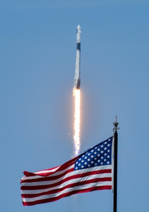 Lanzamiento del cohete de SpaceX para la NASA