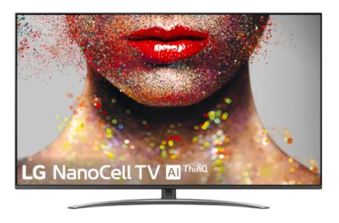 LG NanoCell TV con inteligencia artificial.