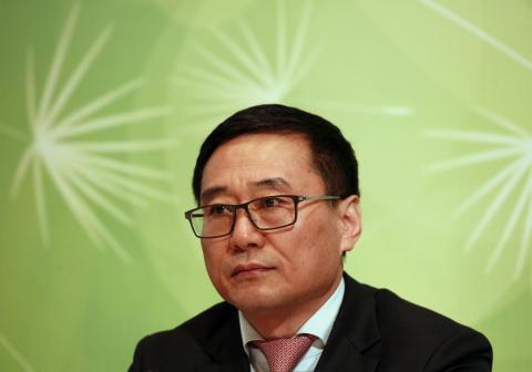 Li Zhiming, director ejecutivo de Sinopharm.
