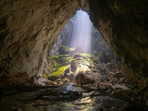 La cueva de Hang Son Doong no se abrió al público hasta 2013.