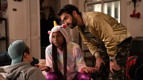 "Issa Rae and Kumail Nanjiani in ""The Lovebirds."""