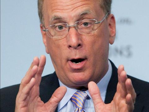 Larry Fink, CEO de BlackRock