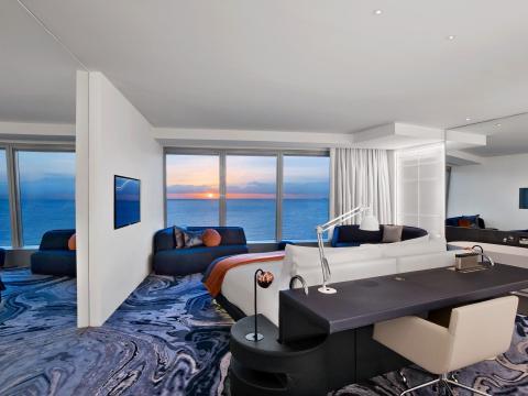 El preciode una nochevaría desde los 250 euros por una habitación estándar a los 13.500 euros por la Suite Presidencial.