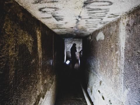 Pasadizos de las pirámides de Egipto