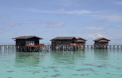 La isla Pom Pom (Malasia)