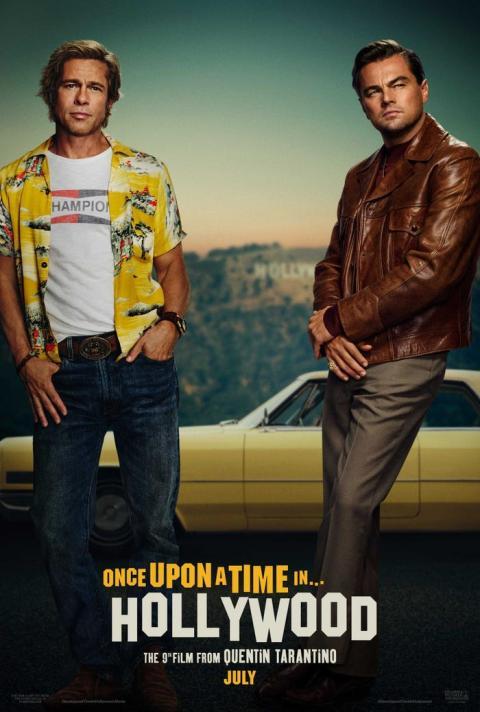 Brad Pitt y Leonardo DiCaprio protagonizan 'Érase una vez... en Hollywood'.