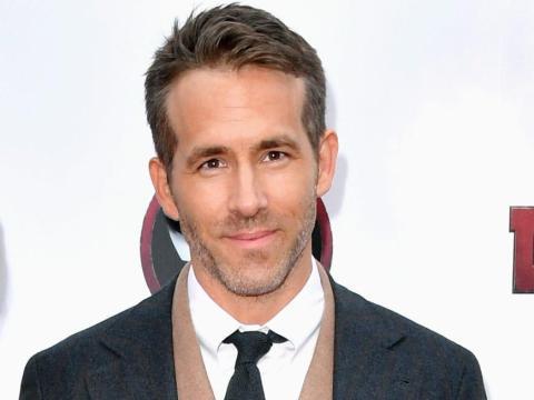 Ryan Reynolds actualmente.