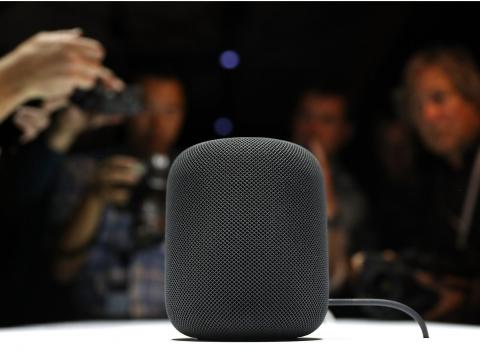 Some new Apple gadgets, like a new iMac and HomePod