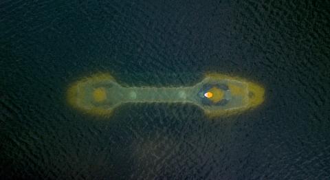El submarino transparente de la compañía Triton Submarines.