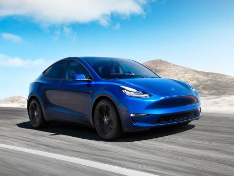 El Tesla Model Y.