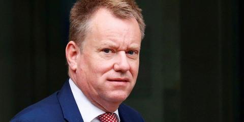 The UK's chief negotiator, David Frost.