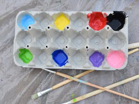 Te ayudará a desperdiciar menos pintura.