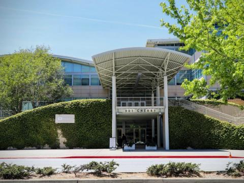 YouTube's current headquarters in San Bruno, California.