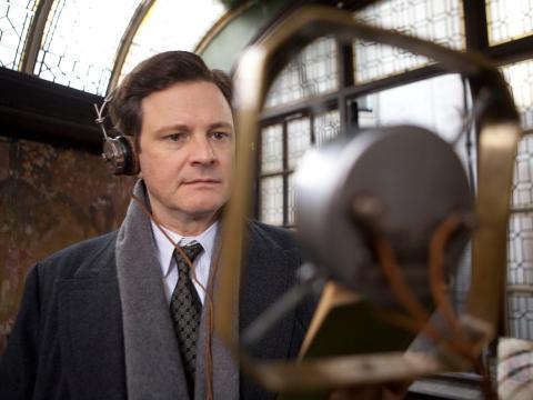 """Colin Firth protagoniza """"El discurso del rey""""."""