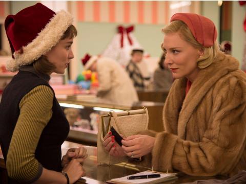 """Rooney Mara y Cate Blanchett coprotagonistas en """"Carol""""."""
