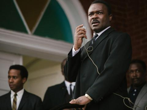 "David Oyelowo interpreta a Martin Luther King, Jr. en ""Selma""."