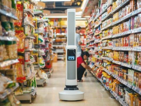 En 2019, la cadena regional de supermercados Giant Eagle comenzó a probar los robots Tally en sus tiendas. Los robots Tally, que son hechos por Simbe Robotics, examinan las estanterías para controlar las existencias.