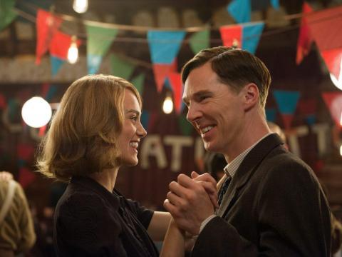 Keira Knightley y Benedict Cumberbatch coprotagonistas en Descifrando enigmas.