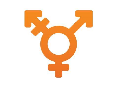 Símbolo transgénero.