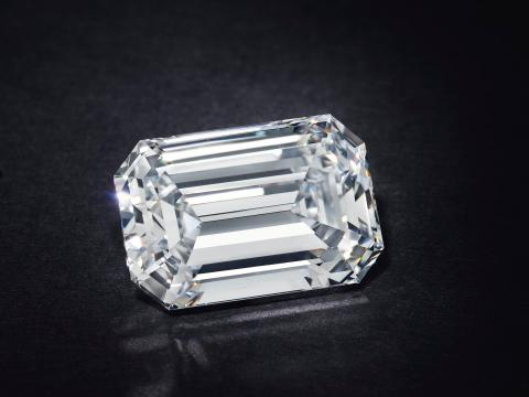 A 28-carat diamond just became the most expensive jewel ever auctioned online after selling for over $2.1 million