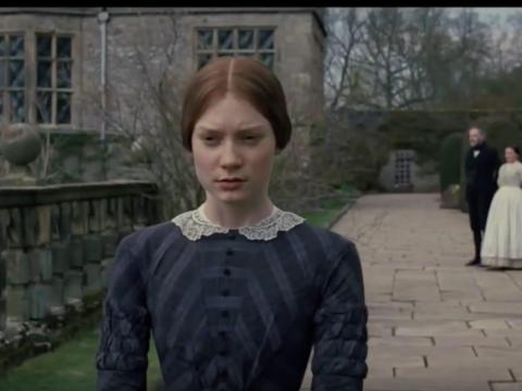 """Mia Wasikowska protagoniza """"Jane Eyre""""."""