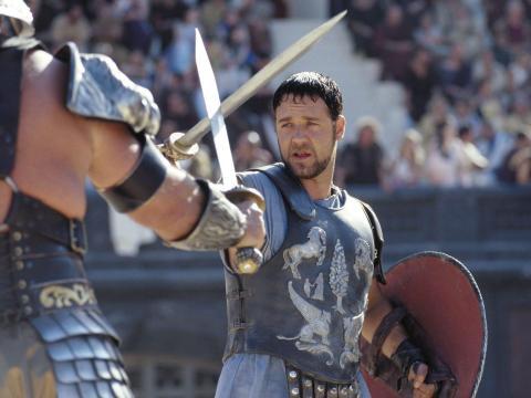 "Ridley Scott dirigió ""Gladiador""."