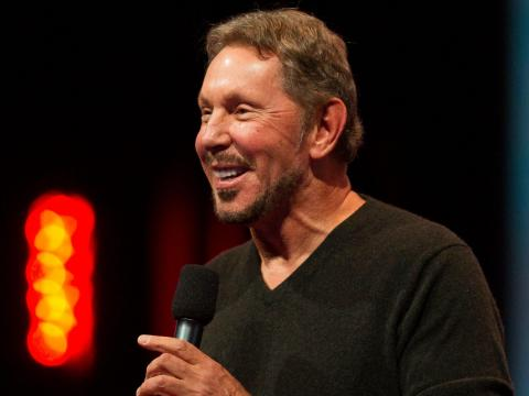 Larry Ellison.