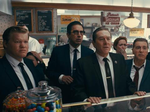 """Martin Scorsese dirigió """"El Irlandés""""."""