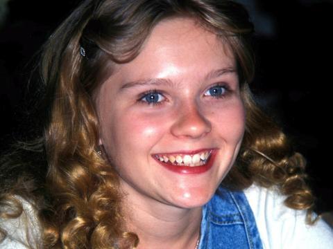 Kirsten Dunst en 1995.