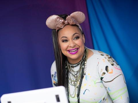Raven Symone en el Disney Channel Fan Fest.
