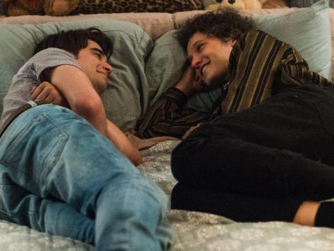 Daniel Doheny y Antonio Marziale en 'Alex Strangelove'