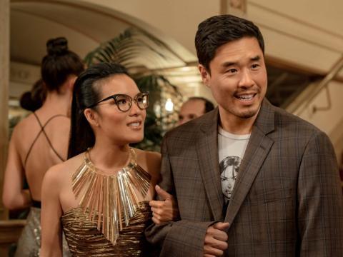 Ali Wong y Randall Park coprotagonizan 'Quizás para siempre'