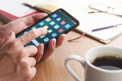 Aplicaciones en el móvil.