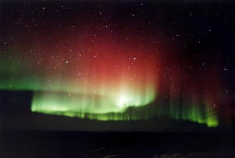 Aurora Polar vertical