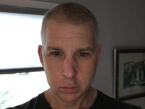 El autor en octubre de 2018, Todd Wasserman