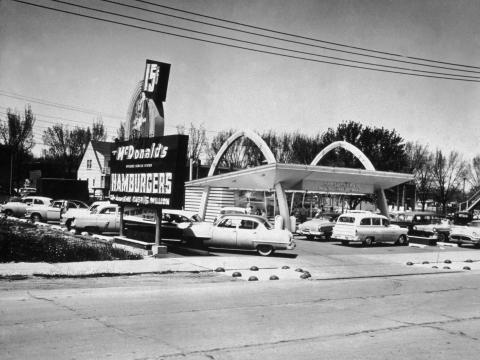 The first official McDonald's franchise opened on April 15, 1955, in Des Plaines, Illinois.